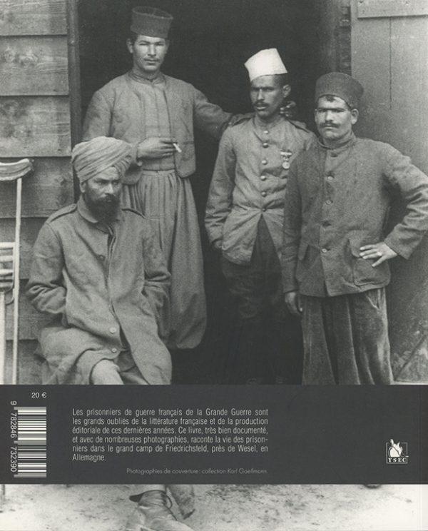 Friedrichsfeld dans la Grande Guerre 4e de couverture