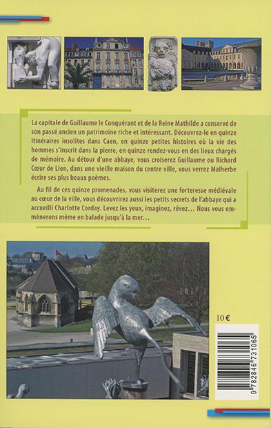 promenades originales dans Caen 4e de couverture