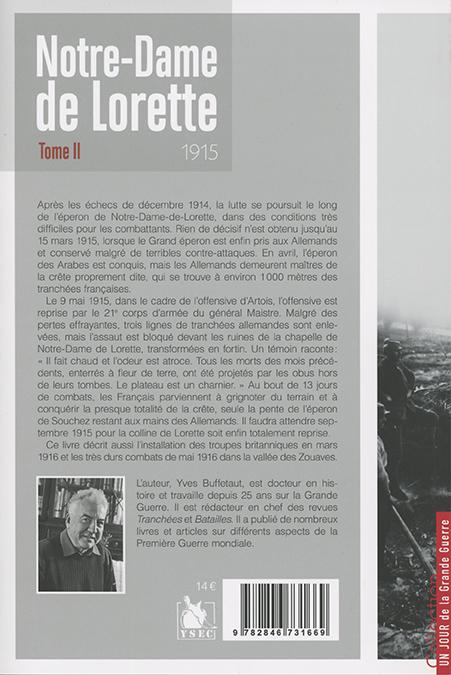 Notre-Dame de Lorette 1915 - 4e de couverture