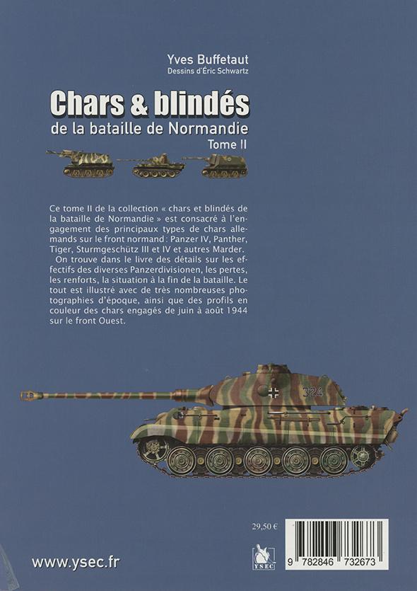 Chars et blindés allemands de la bataiille de Normandie