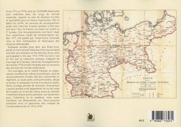 Répertoire de l'armée allemande dans la Grande Guerre