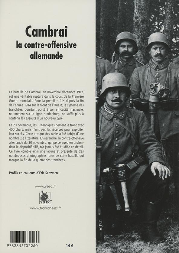 Cambrai, la contre-offensive allemande - 4e de couverture