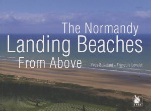 Normandy landing beaches from above