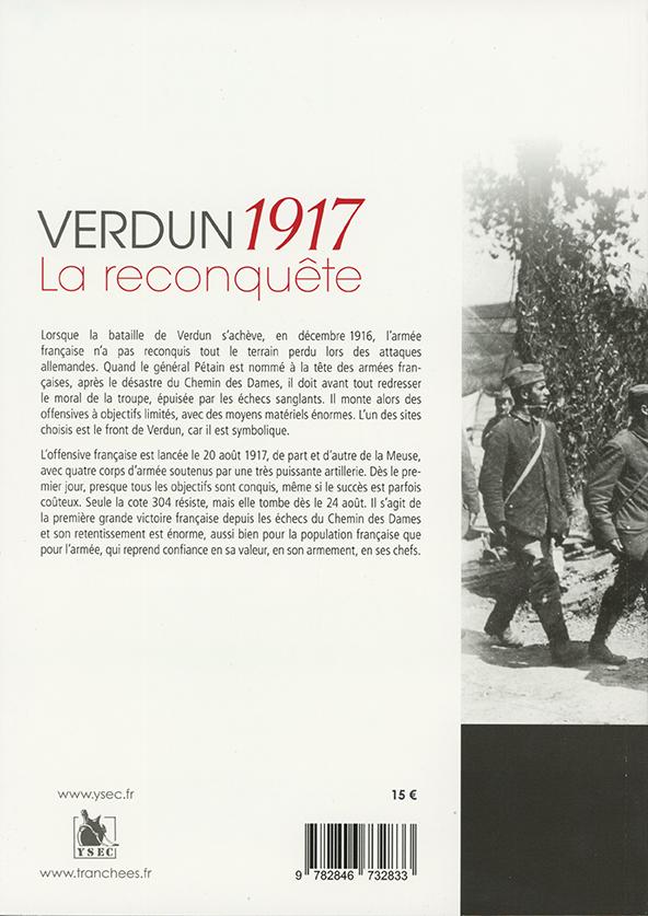 Verdun 1917, la reconquête - 4e de couverture