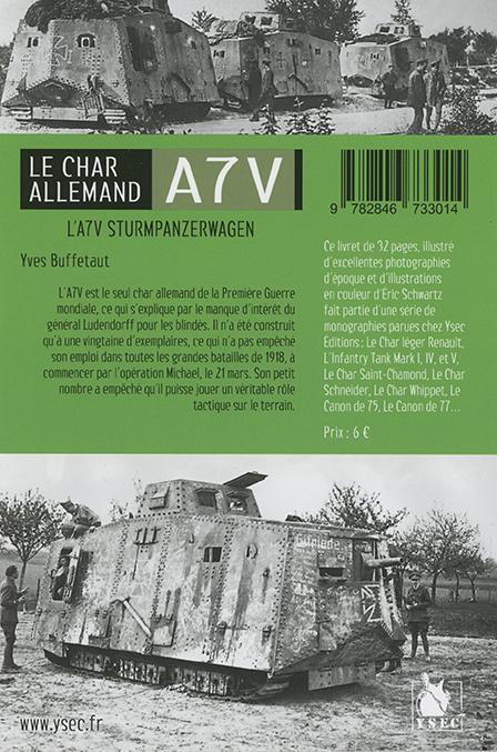 char A7V - 4e de couverture