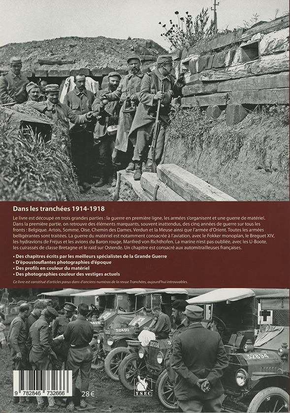 Dans les tranchées 1914-1918 - 4e de couverture