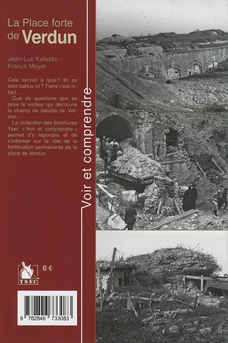 La place forte de Verdun - 4e de couverture