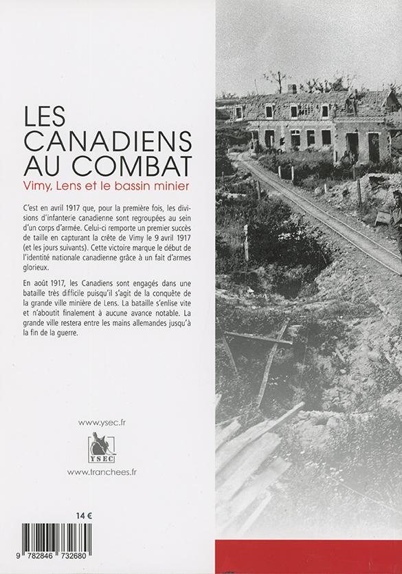 Canadiens au combat - 4e de couverture