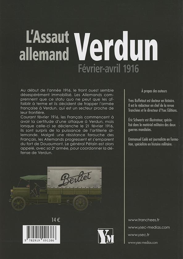 L'Assaut allemand Verdun - 4e de couverture