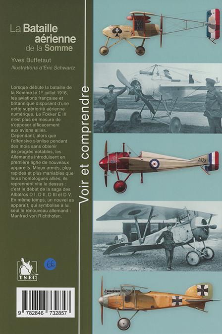 La bataille aérienne de la Somme - 4e de couverture