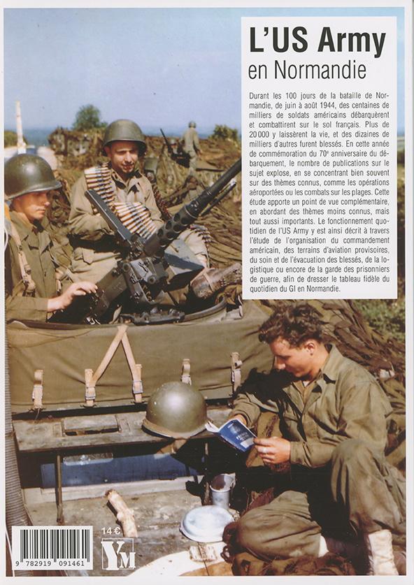 L'US Army en Normandie - 4e de couverture