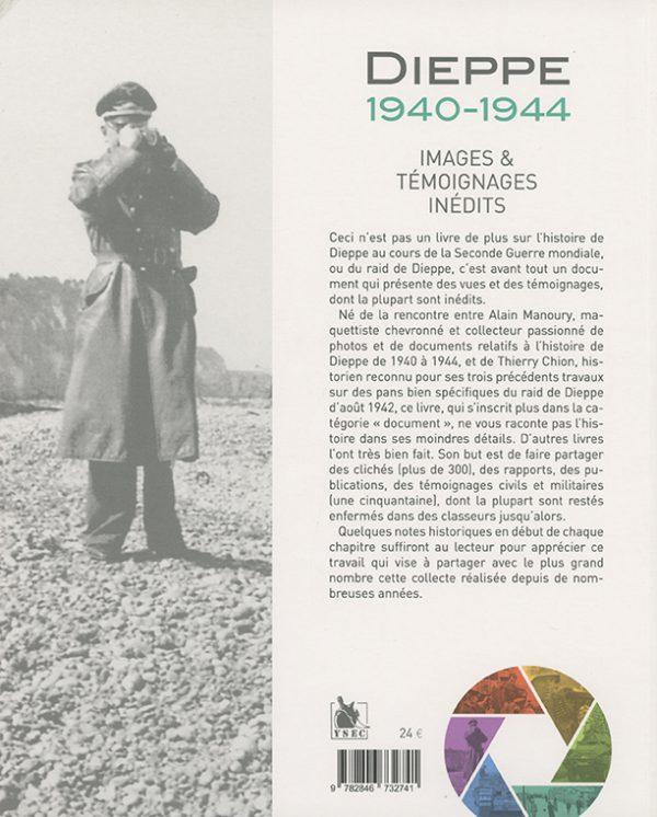 Dieppe 1940-1944 - 4e de couverture