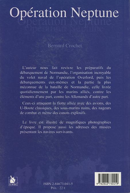 Opération Neptune - 4e de couverture