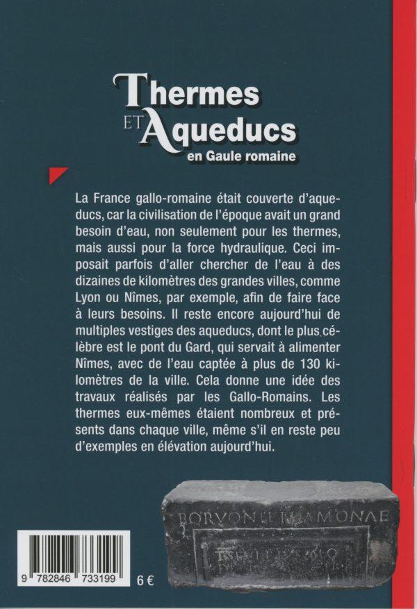 thermes et aqueducs - 4e de couverture