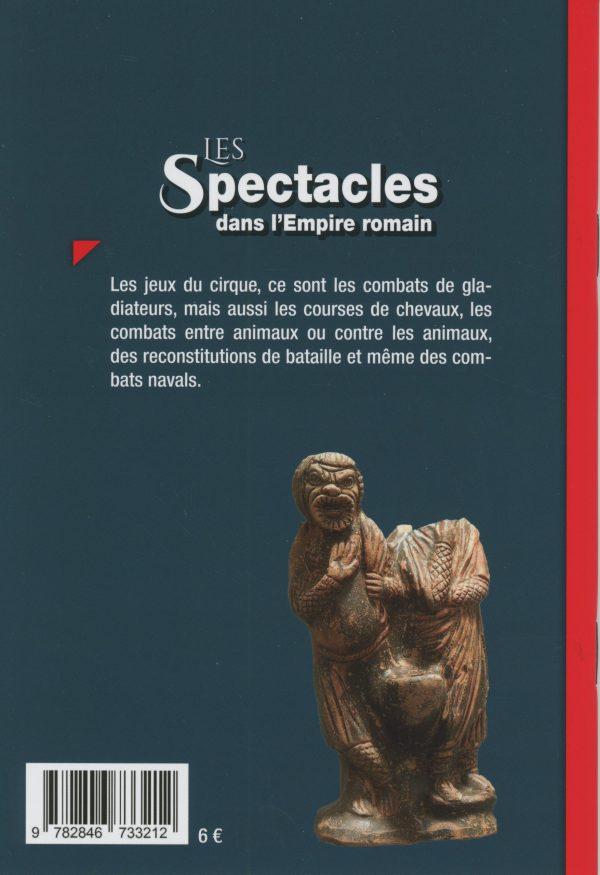 Les Spectacles dans l'empire romain - 4e de couverture