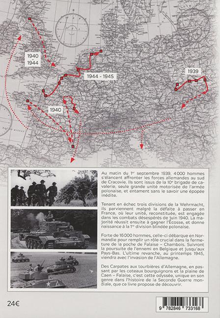 Histoire de la 1ère division blindée polonaise - 4e de couverture