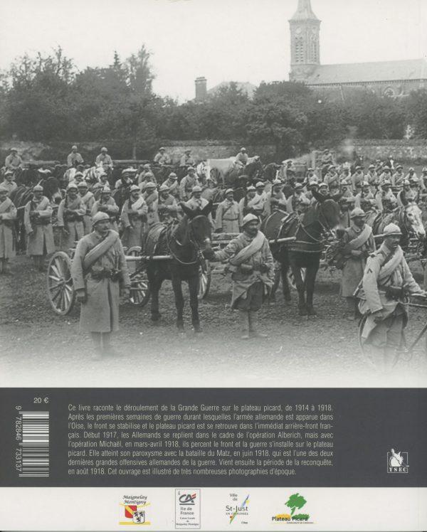 Le Plateau picard pendant la Grande Guerre - 4e de couverture