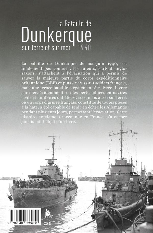 La bataille de Dunkerque - 4è de couverture