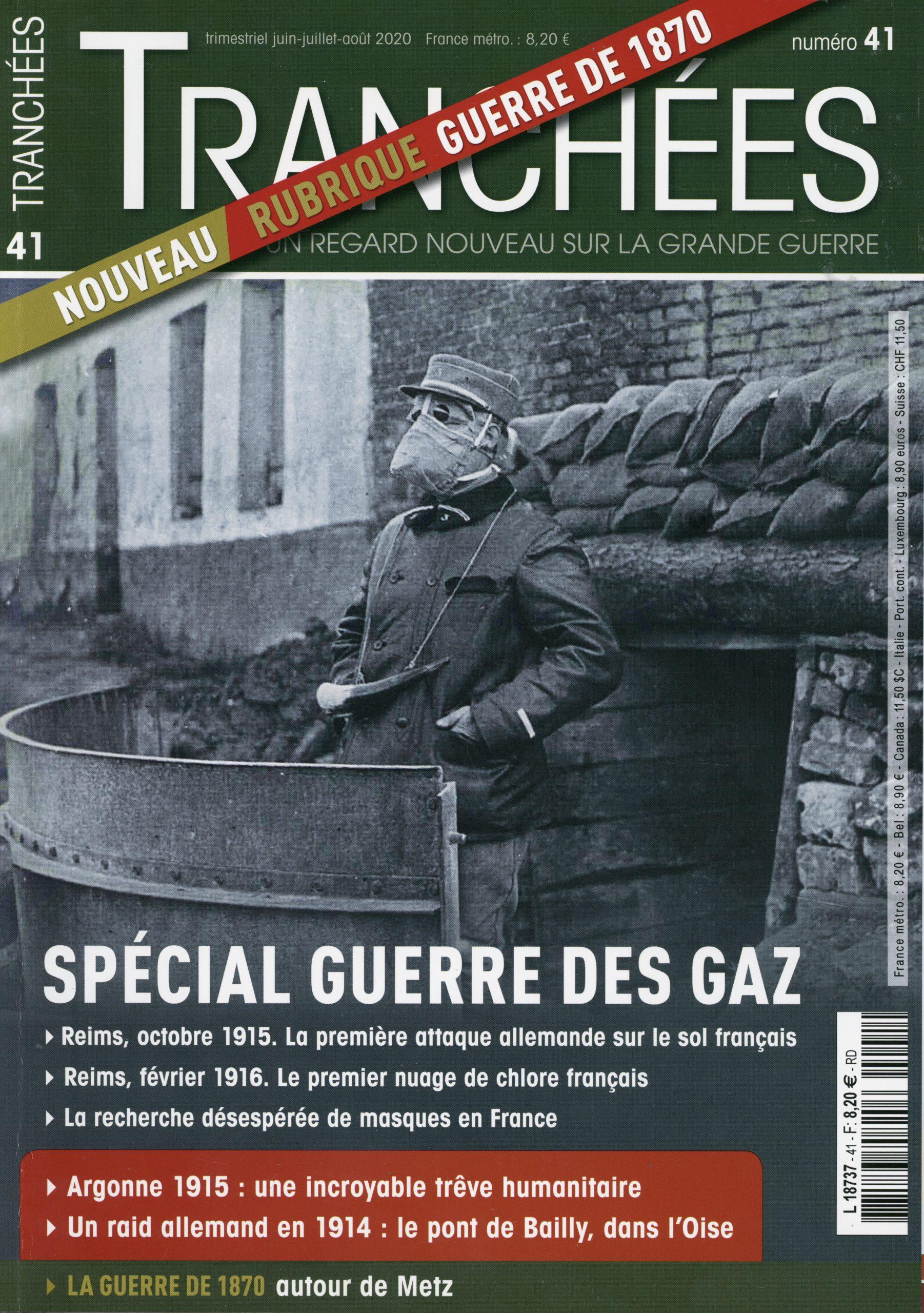magazine Tranchées n°41