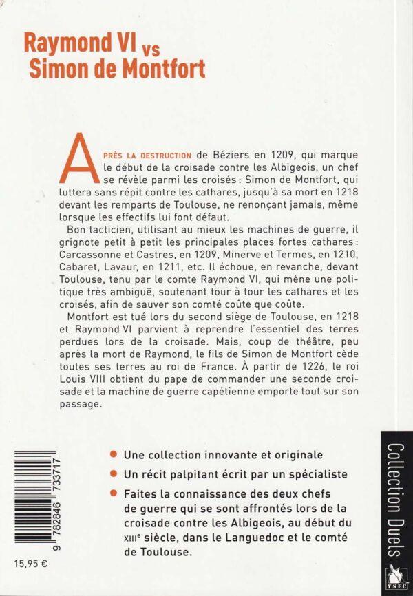 La croisade contre les albigeois - 4è de couverture