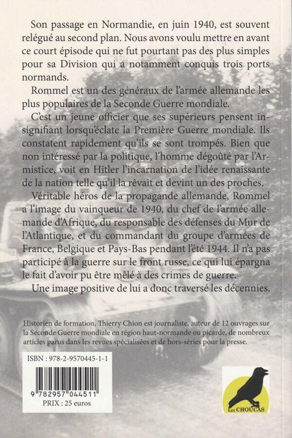 Rommel en Normandie en 1940 - 4è de couverture