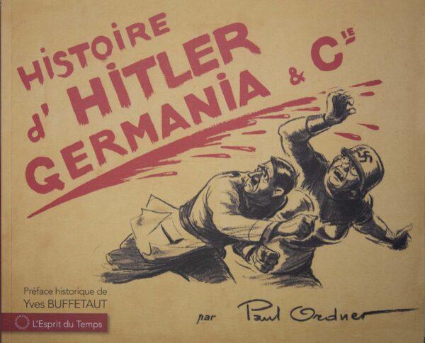 Dessins antinazis de Paul Ordner