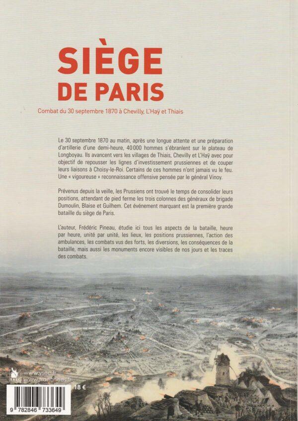 Combats du 30 septembre 1870 - 4è de couverture