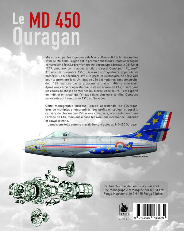 MD 450 Ouragan - 4è de couverture