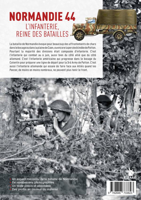Infanterie 44- bataille de Normandie 4 couv