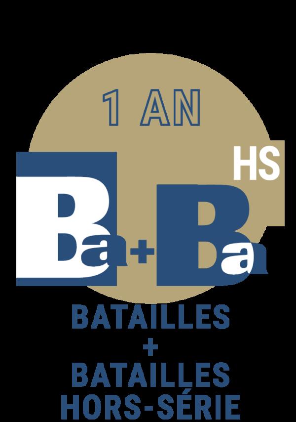 Abonnement jumelé Batailles trimestriel Batailles hors série 1 an